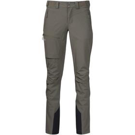 Bergans Breheimen Softshell Pants Dame green mud/aluminium